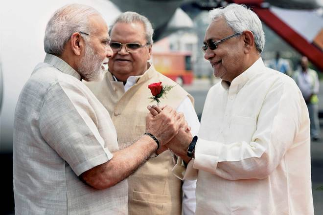 MODI and NITISH KUMAR